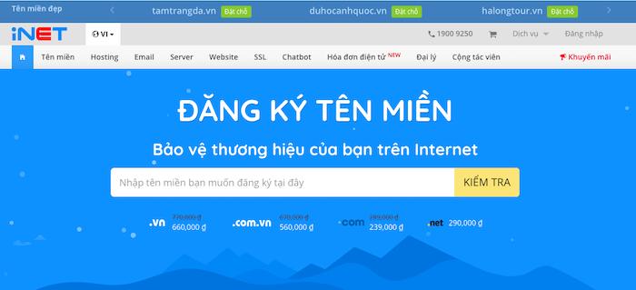 Các nhà đăng ký tên miền giá rẻ tại Việt Nam tốt nhất năm 2021